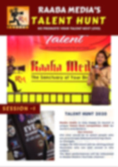 raaba media's talent hunt competition 21