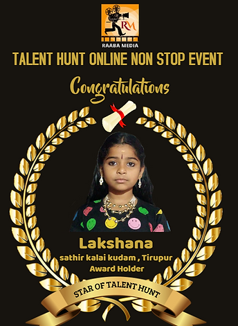 raaba media's talent hunt online event w
