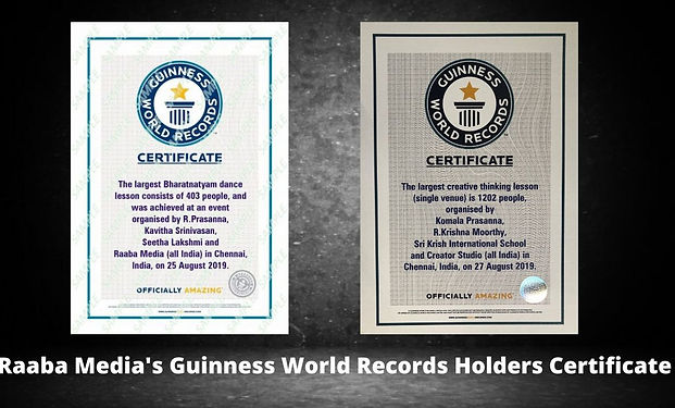 raaba media's guinness world records cer