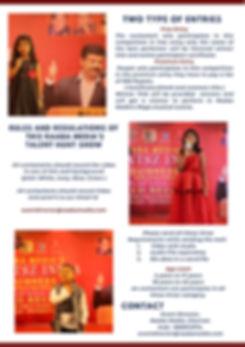 _Raaba Media's Talent Hunt Brochure   (2