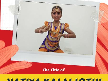 Natya kala Jothi