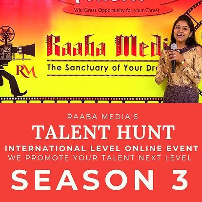 Raaba Media's Talent Hunt posters  (2).j