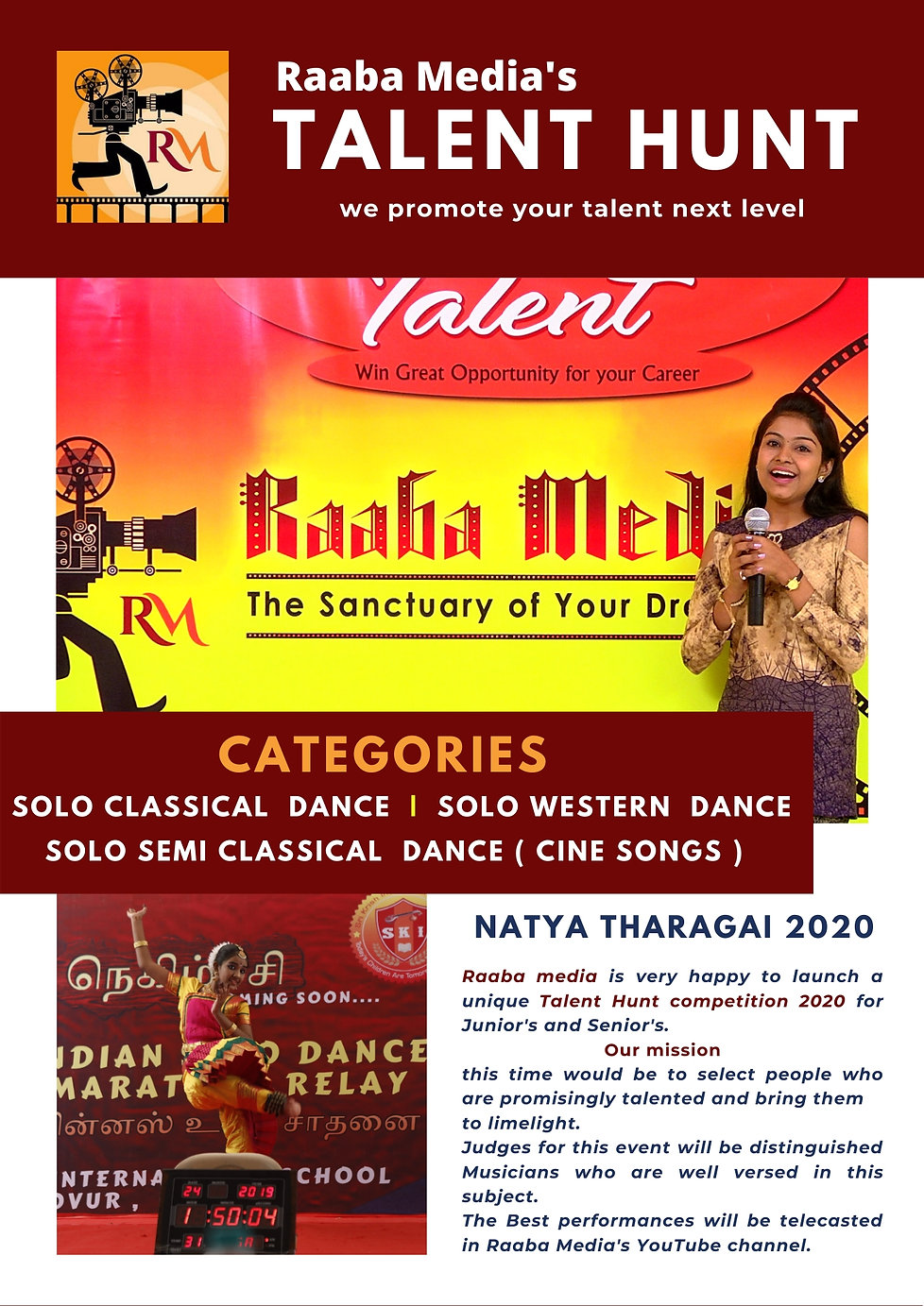 raaba media's talent hunt competition 23