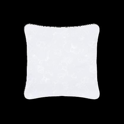 KISSENHÜLLE 1801 BUBBLE white