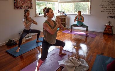 Apsara postnatal yoga Goddess pose .jpg