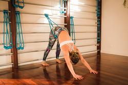 Custom built Yoga Wall