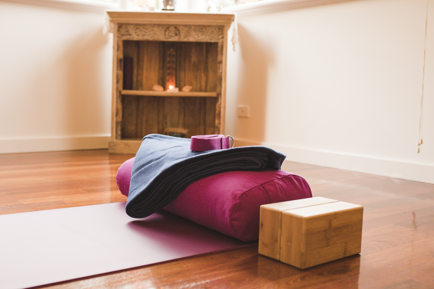Quality Yoga props for your use