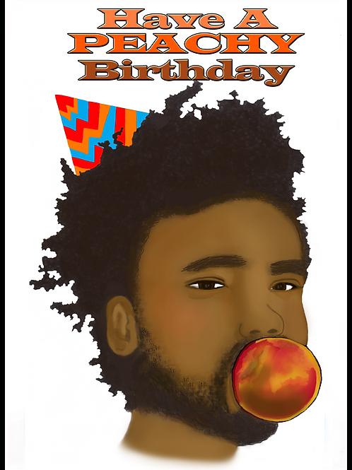 Childish Gambino Atlanta Birthday Card