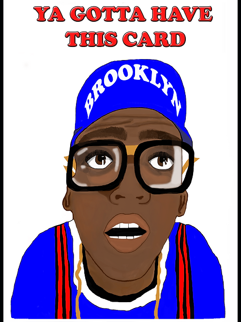 Gotta Have this Spike Lee Card