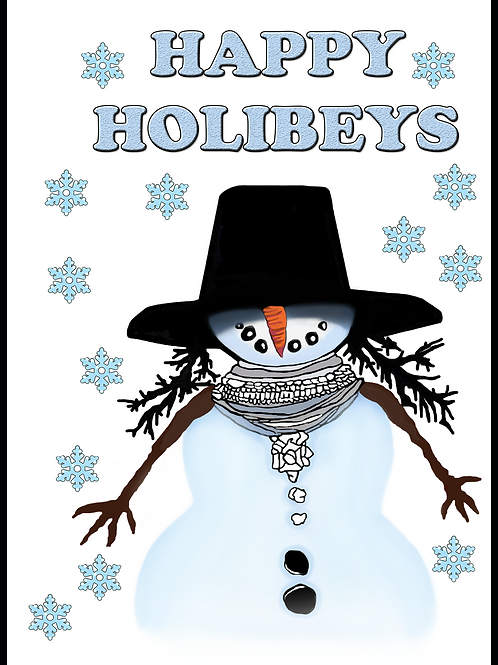 Happy Holibeys Christmas Card
