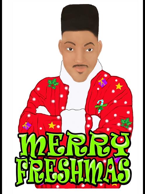 Merry Freshmas Christmas Card