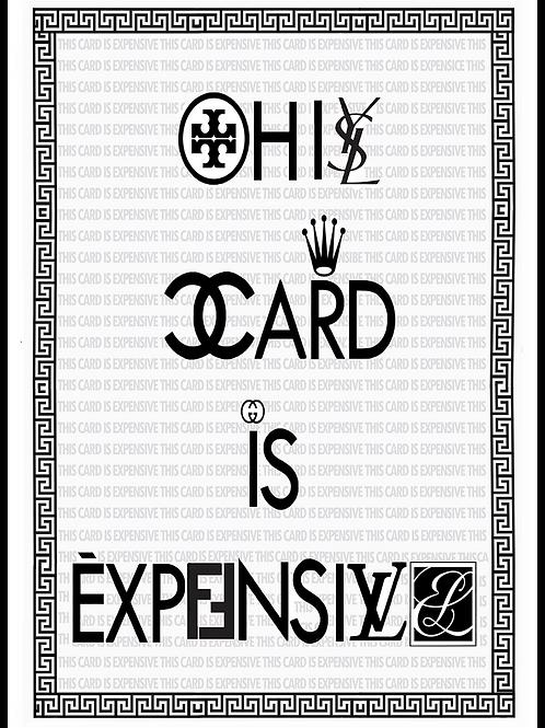 Fashion Name Brand Card