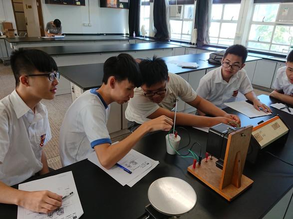 物理科-熱學實驗