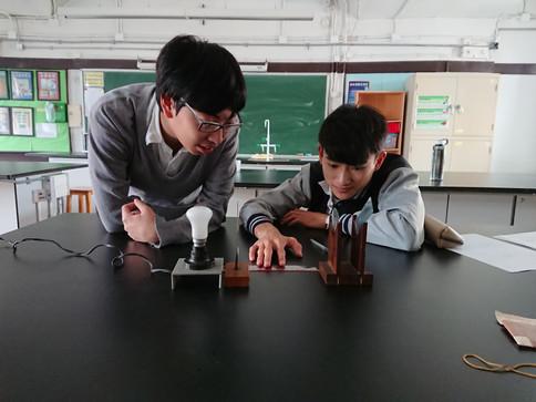 物理科 光學實驗