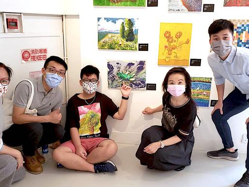 本校學生參展「香港變形記」藝術展