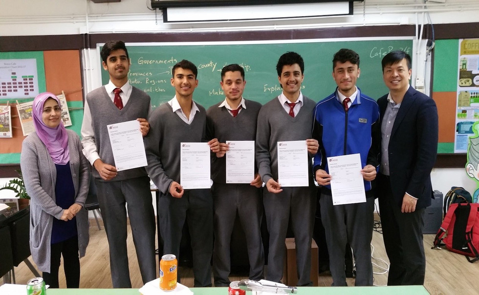 100% passing rate with distinguish in Cambridge International AS and A Level Urdu - Language Exam