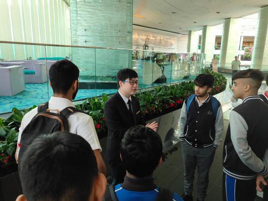 學校起動 - 參觀富豪機場酒店