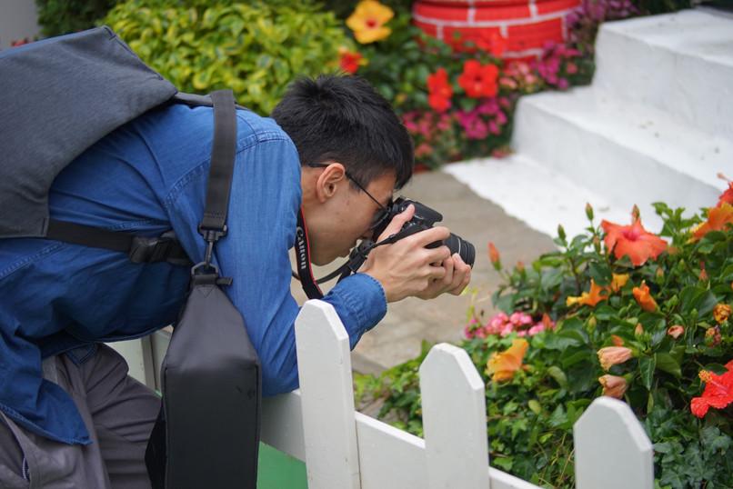 花卉展人像拍攝比賽