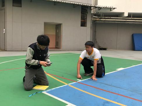數學遊踪(計算籃球場面積)