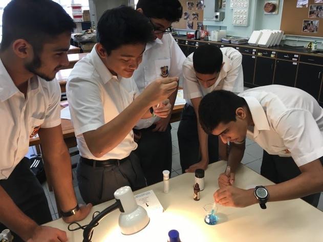 進行實驗活動,讓學生主動參與探究