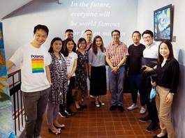 和富慈善基金李宗德小學團隊到訪