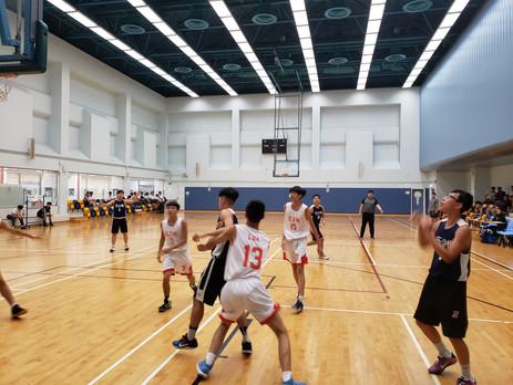 葵青區甲組學界籃球 - 對陳兆民