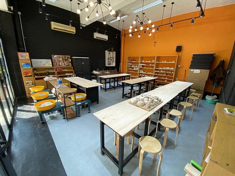 本校陶藝室