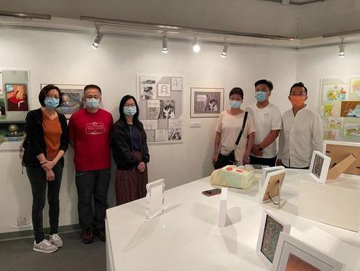 本校學生有幸參與企鵝皮拉爾和幾個小故事》展覽
