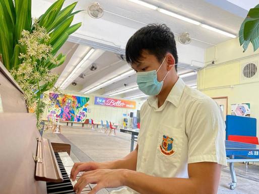 本校學生榮獲全港鋼琴比賽金獎