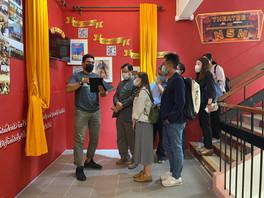 嶺南大學團隊到訪