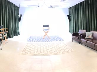 800 sq ft of studio space!
