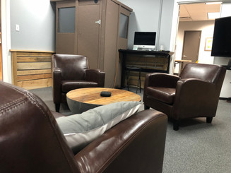 Ample space for clients.