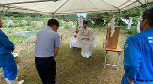 2020/9/10 安全祈願祭を執り行いました。