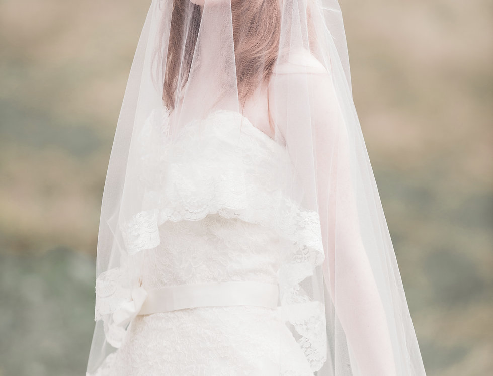 Maud French Lace Veil (Wholesale)