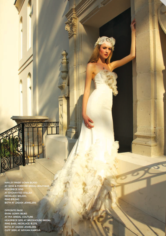 LIV HART x WEDDINGS HOUSTON MAGAZINE