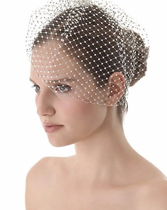 Tres Luxe Cage Veil