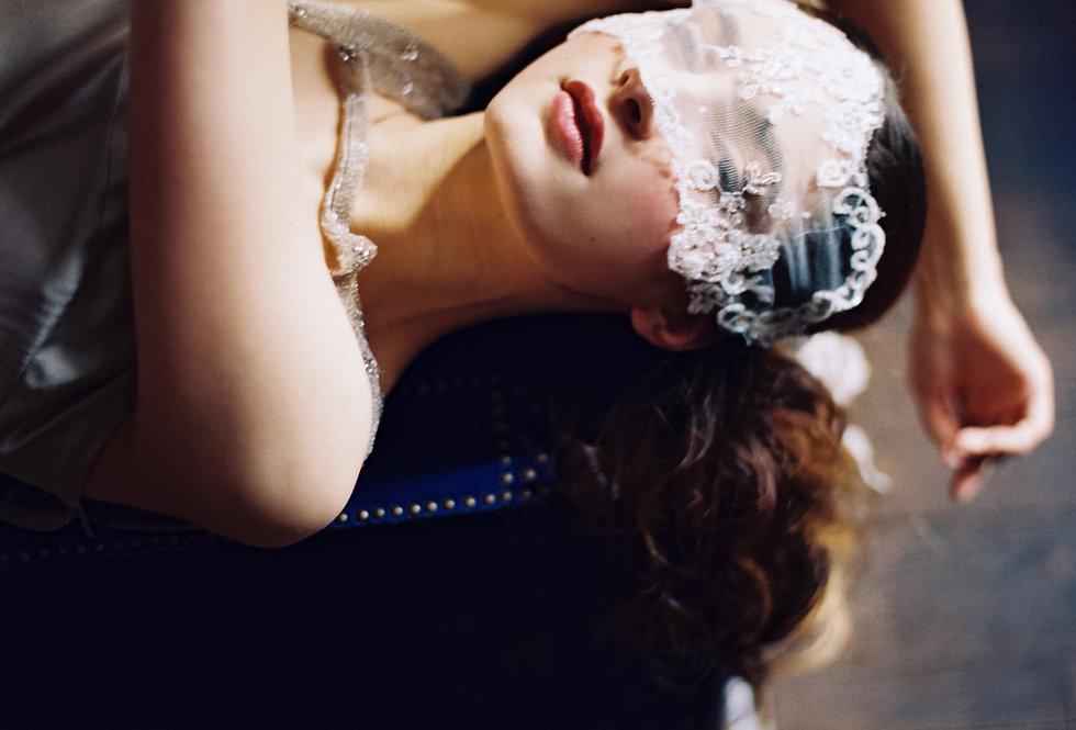 Sophia Bandeau Veil