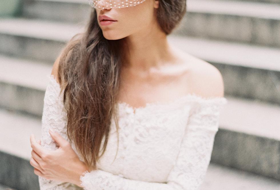 Marie Luxe Bandeau Veil