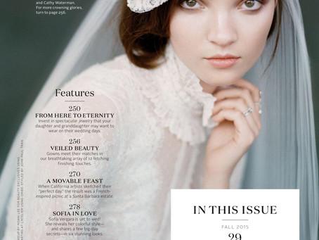 TBT: Martha Stewart Weddings