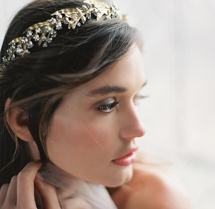 Lily of the Valley Headband by Liv Hart / Photo by Laura Gordon