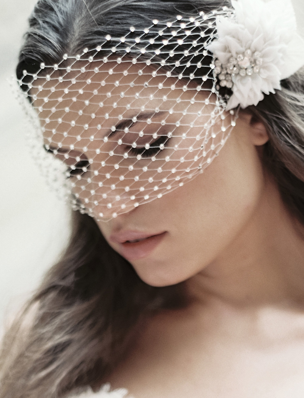 Marie Luxe Veil by Liv Hart on The Knot