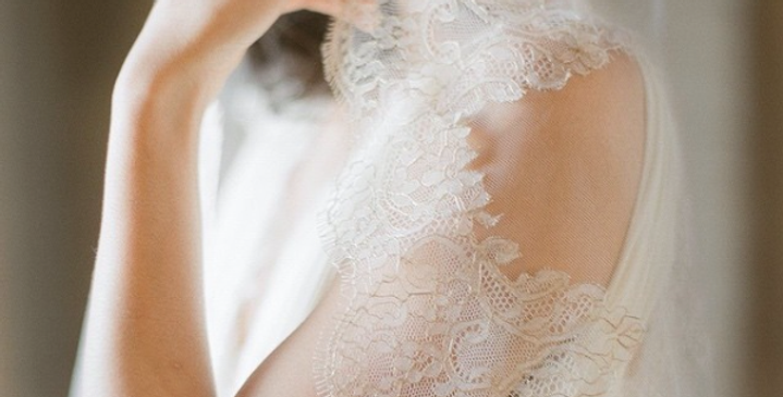 Gilded French Lace Veil (Wholesale)