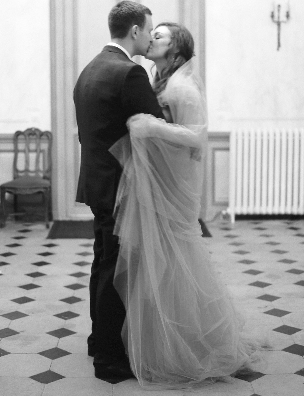 "Me dancing with my husband to ""More of You"" by Chris Stapleton for our first dance. / Photo Laura Gordon"