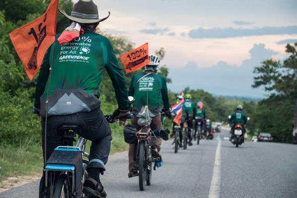 Bike for Renewable Energies