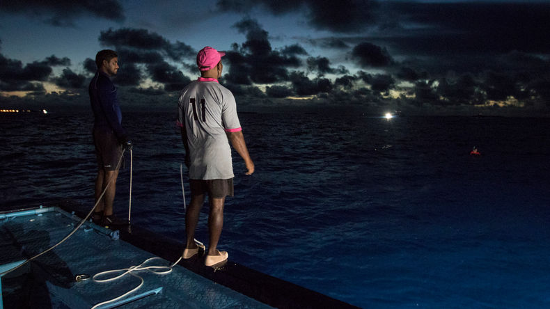 Pole & Line fishing in the Maldives