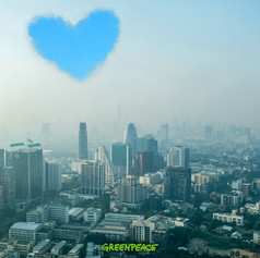 Love is in the sky - PM 2.5 campaign