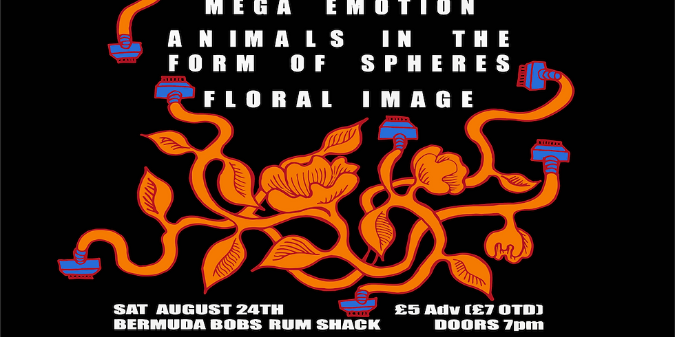 Mega Emotion, Animals in the form of spheres, Floral Image