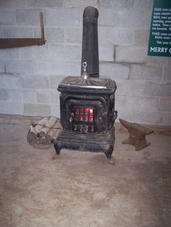 Old Fashioned Pot Belly Stove