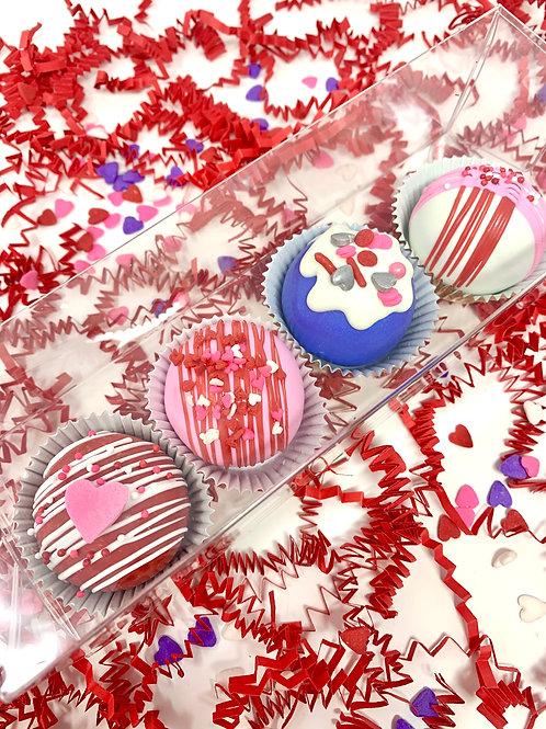Valentine's Day Cake Truffles - PRE ORDER