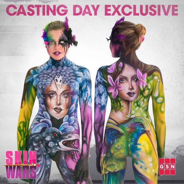 Casting for Skin Wars